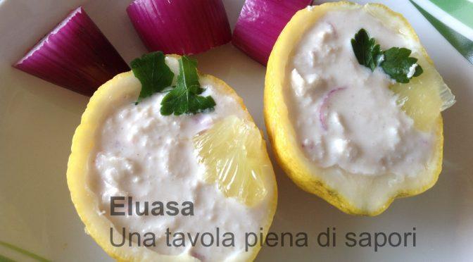 Limoni con polpa di granchio