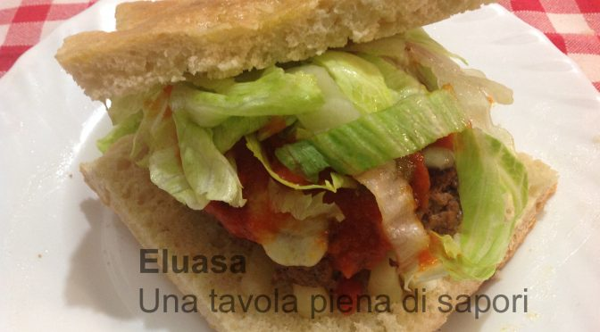 Toscoburger con asiago