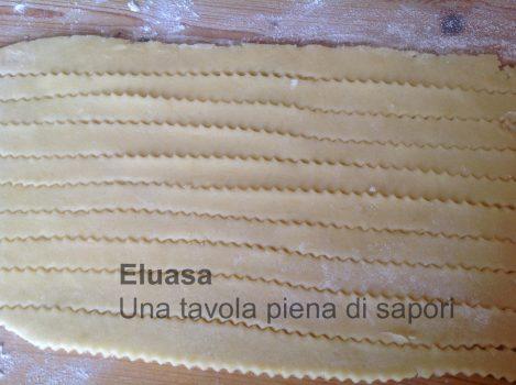 strisce di pasta frolla