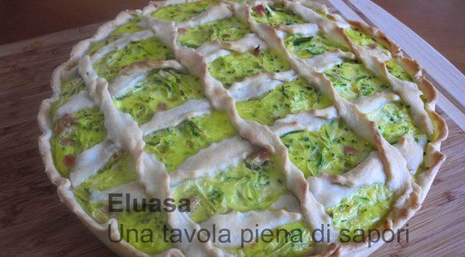 Torta salata con zucchine, facile, veloce
