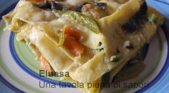 Le lasagne vegetariane