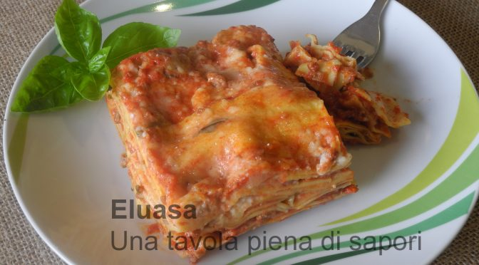 Lasagna toscana,con carne e besciamella
