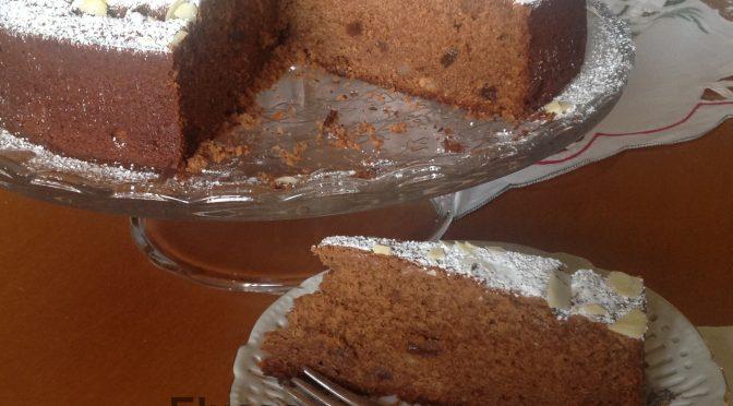 Castagnaccio napoletano al cioccolato, a modo mio