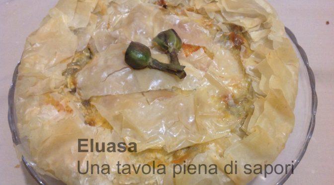 Torta salata con pasta fillo ricetta facile