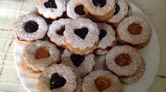 Biscottini a occhio di bue integrali