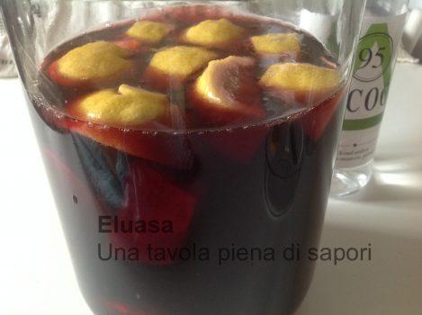 preparazione Aperitivo al vino rosso