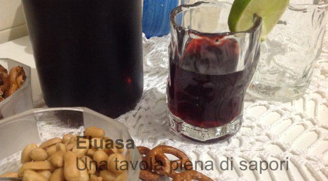 Aperitivo al vino rosso