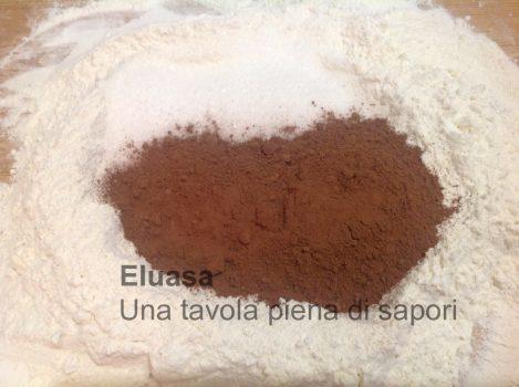 farina cacao zucchero