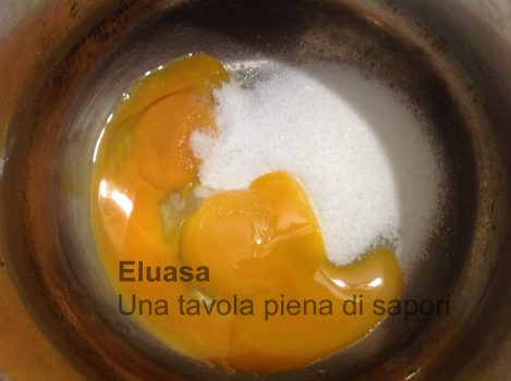 uovo e zucchero