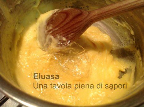gelatina nella crema