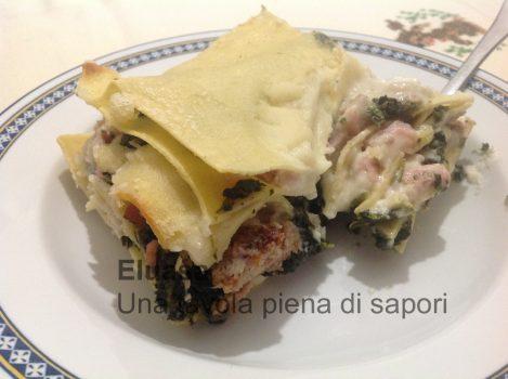 lasagna in piatto