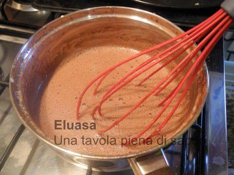 crema mentre cuoce