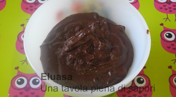 crema pasticcera al cioccolato, ricetta semplice