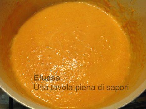 crema di zucca e formaggio